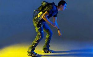 El primer exoesqueleto fabricado en Europa por la empresa Gogoa Mobility Robots